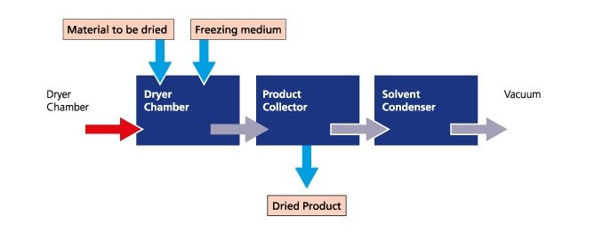 Active Freeze Dryer Diagram