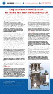 Filling & Weighing System | Hosokawa Micron Ltd