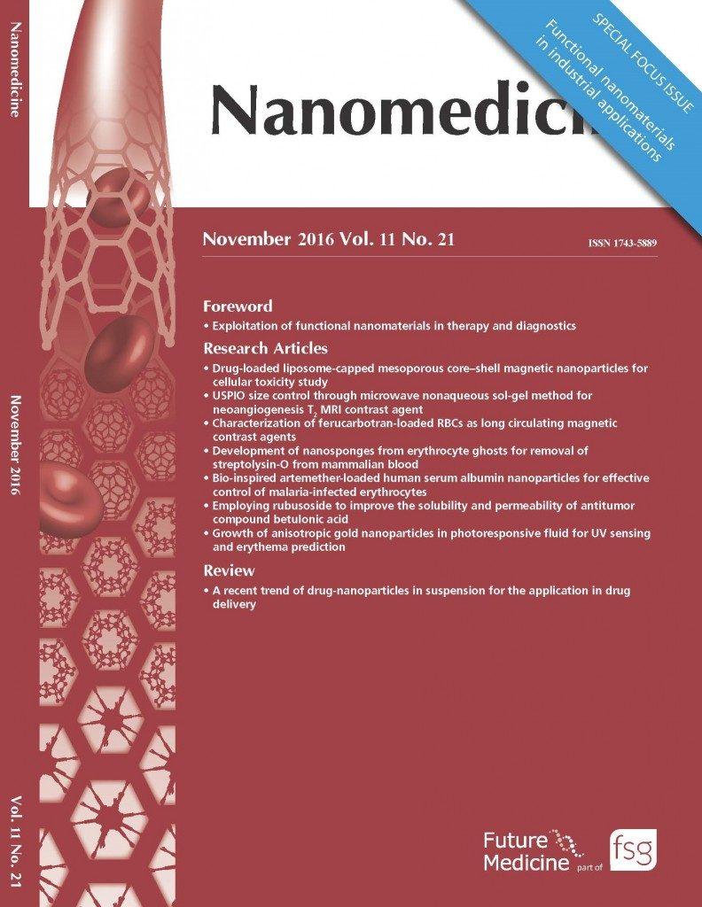Nanomedicine: Exploitation of Functional Nanomaterials in Therapy & Diagnostics.