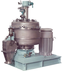 A photo of a Hosokawa Micron Mechanofusion machine