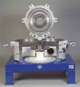 A photo of a air classifier mill
