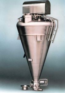 A photo of a conical mixer